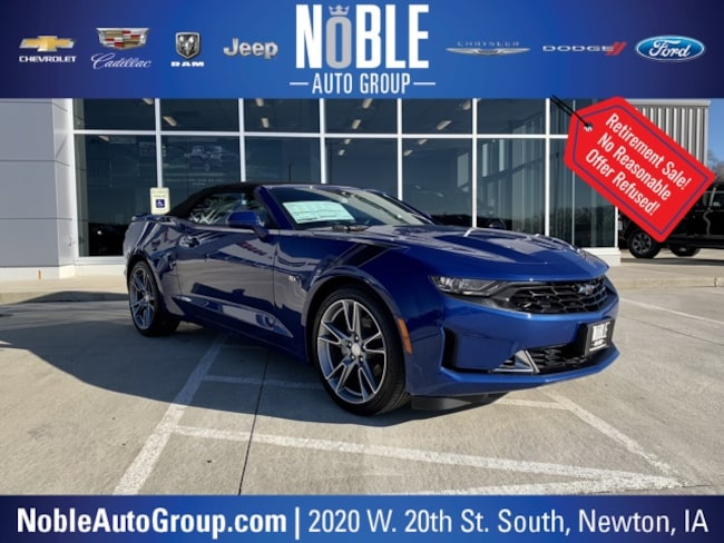 New 2019 Chevrolet Camaro For Sale At Noble Automotive Inc Vin