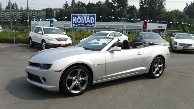 2014 Chevrolet Camaro 2LT RS PACKAGE PADDLE SHIFT Convertible