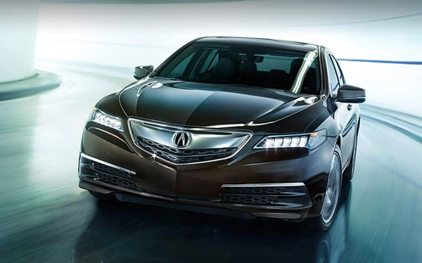 2015 Acura TLX in Crystal Black Pearl