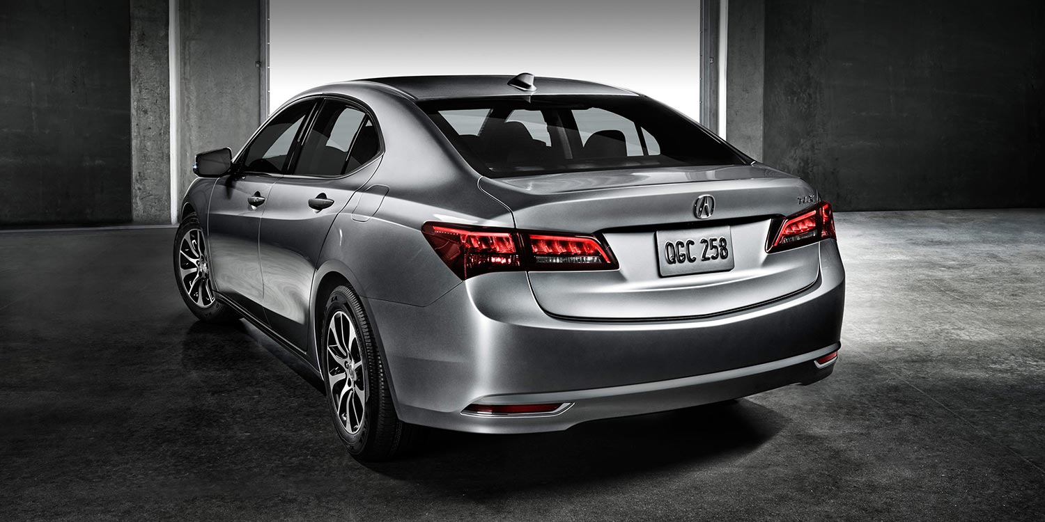 2015 Acura TLX in Sate Silver Metallic