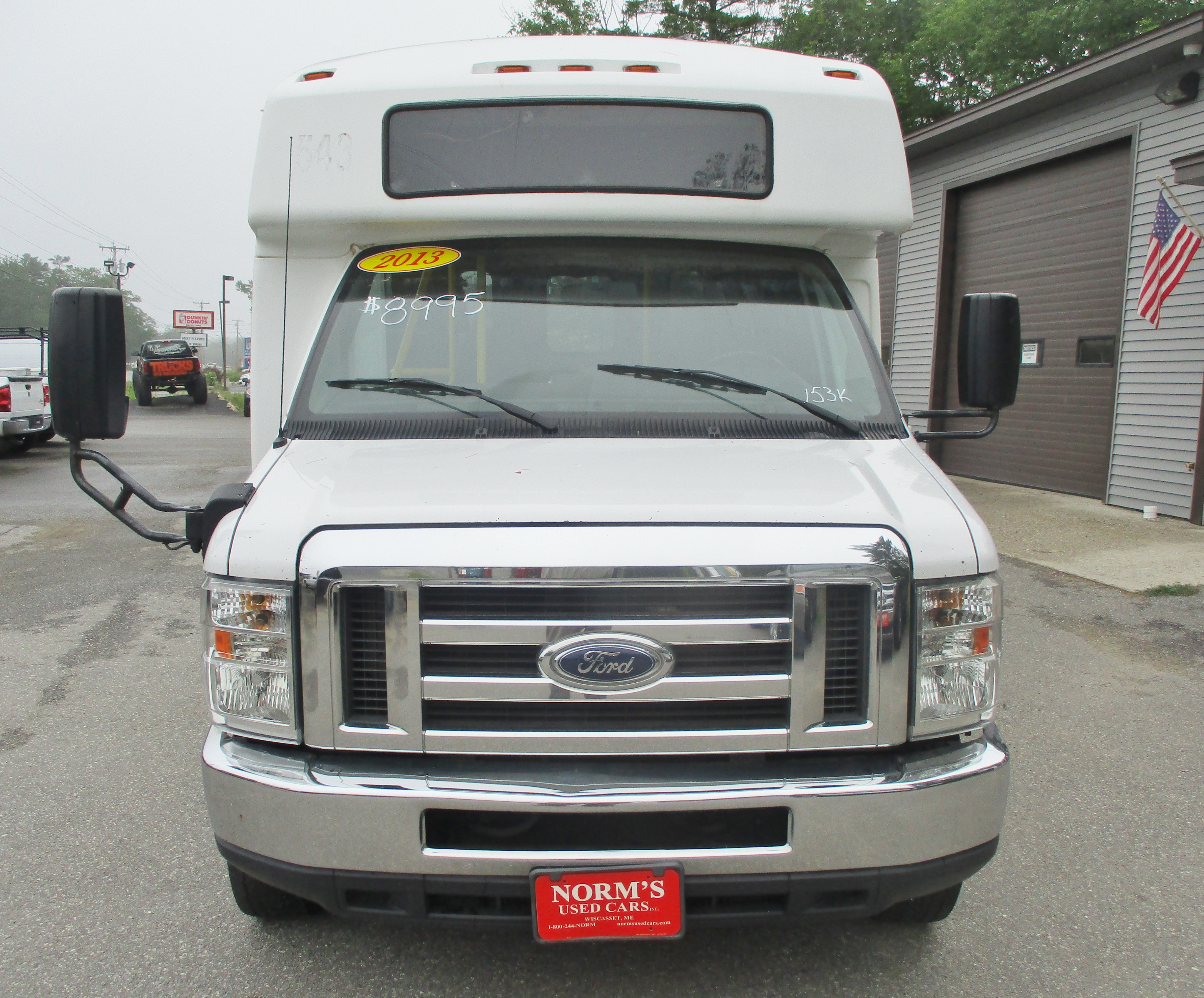 2013 Ford E-350 Cutaway HD Van 14 Pass Bus w/Wheelchair Lift