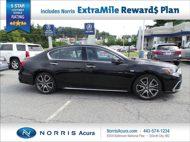 New 2019 Acura RLX Sport Hybrid SH-AWD with Advance Package Sedan in Ellicott City, MD