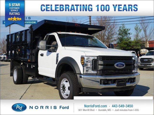 2018 Ford Super Duty F-550 DRW Truck Regular Cab