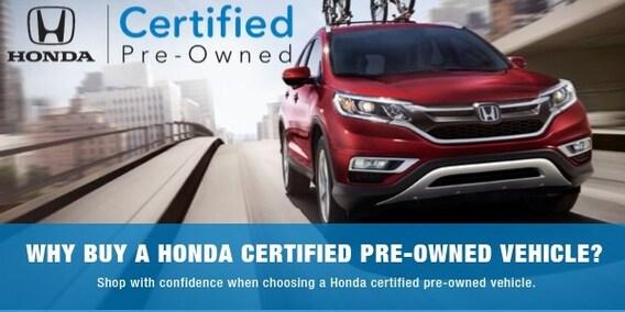Buy Honda Certified Pre Owned Cars At Norris Honda