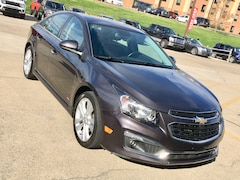 Used 2015 Chevrolet Cruze LTZ Sedan for sale in Gallipolis, OH