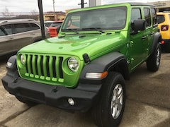 New 2019 Jeep Wrangler UNLIMITED SPORT S 4X4 Sport Utility for sale in Gallipolis, OH