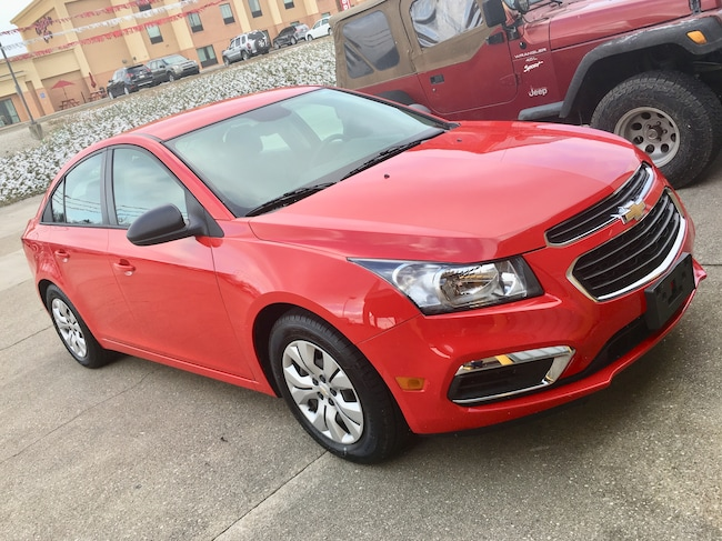 Used 2016 Chevrolet Cruze Limited LS Auto Sedan for sale in Gallipolis, OH