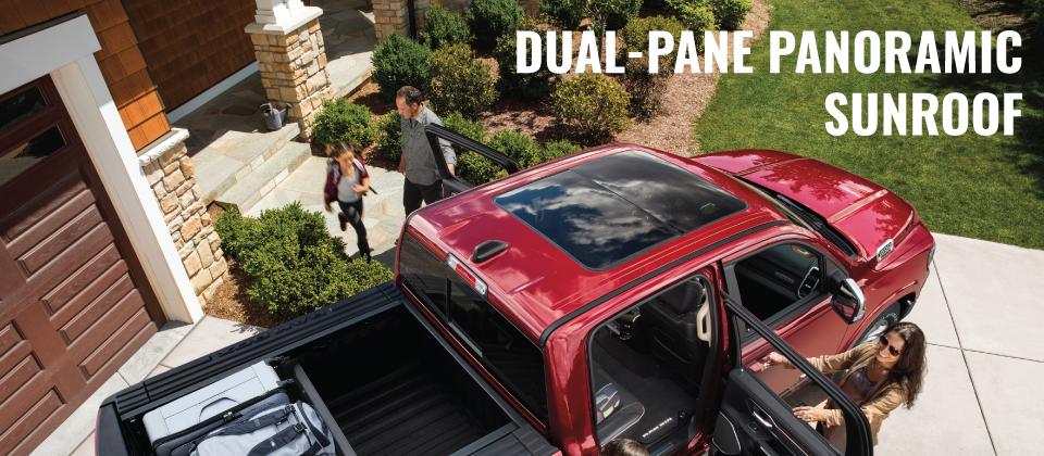 RAM Dual-Pane Panoramic Sunroof