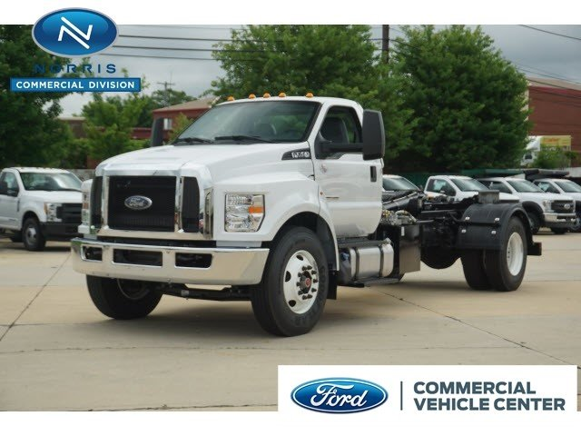 2017 Ford F-750 Diesel Base Truck Regular Cab