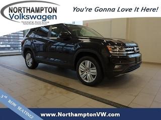 New 2019 Volkswagen Atlas 3.6L V6 SE w/Technology SUV For Sale In Northampton, MA