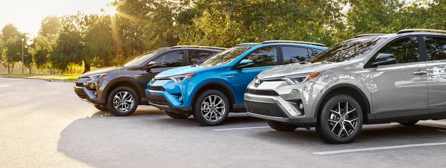 2018 Toyota RAV4 Available Trim Levels in Northbrook, IL