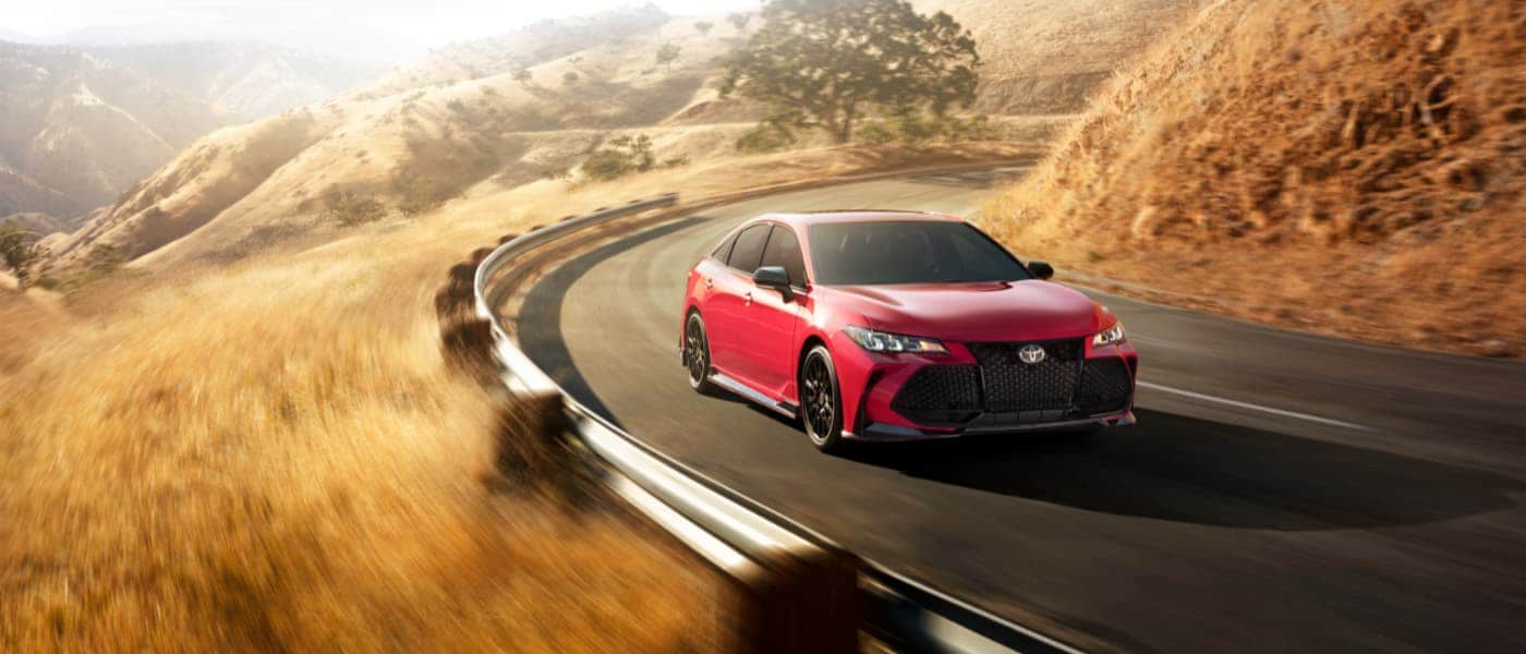 2020 Toyota Avalon driving