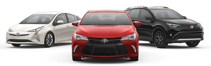 2016 Toyota Vehicles