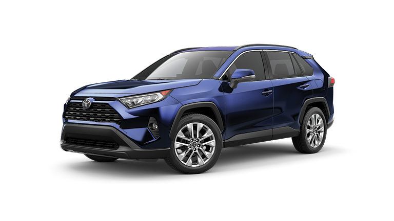 2019 Toyota RAV4 in Blue