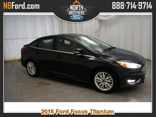 2016 Ford Focus Titanium Sedan