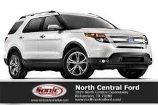 New 2015 Ford Explorer XLT SUV near Dallas