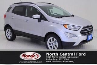 New 2019 Ford EcoSport SE SUV near Dallas
