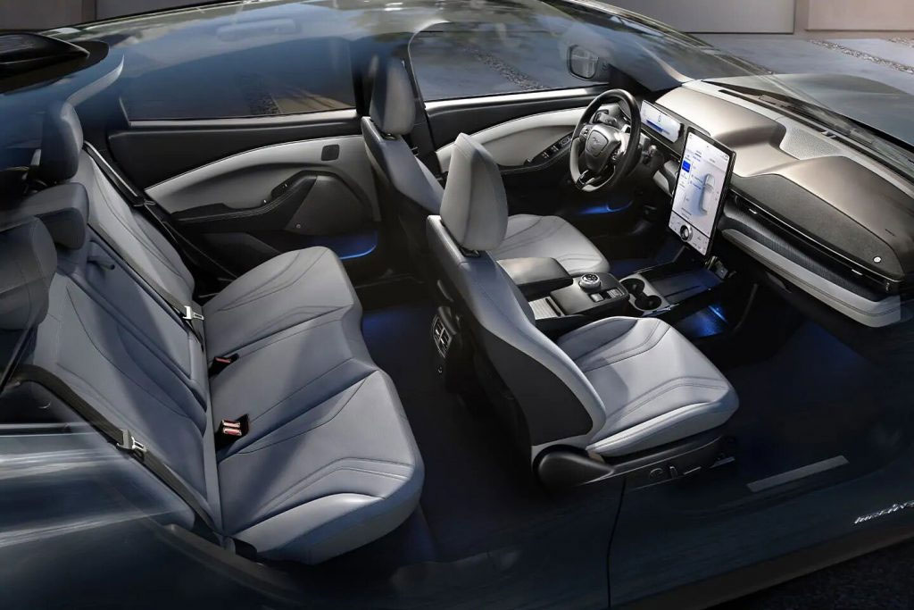 2021 Ford Mustang Mach-E Ample Legroom