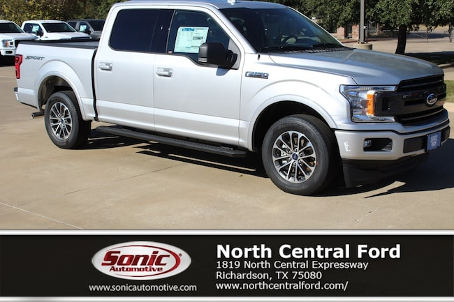 New 2018 Ford F-150 XLT Truck SuperCrew Cab near Dallas