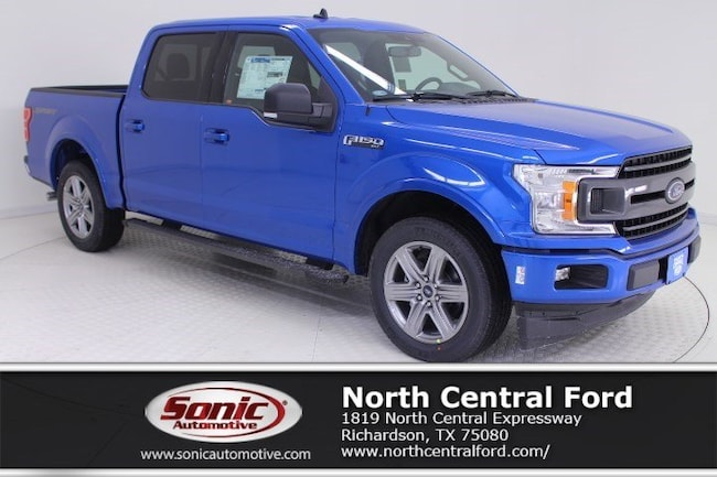 New 2019 Ford F-150 XLT Truck SuperCrew Cab near Dallas