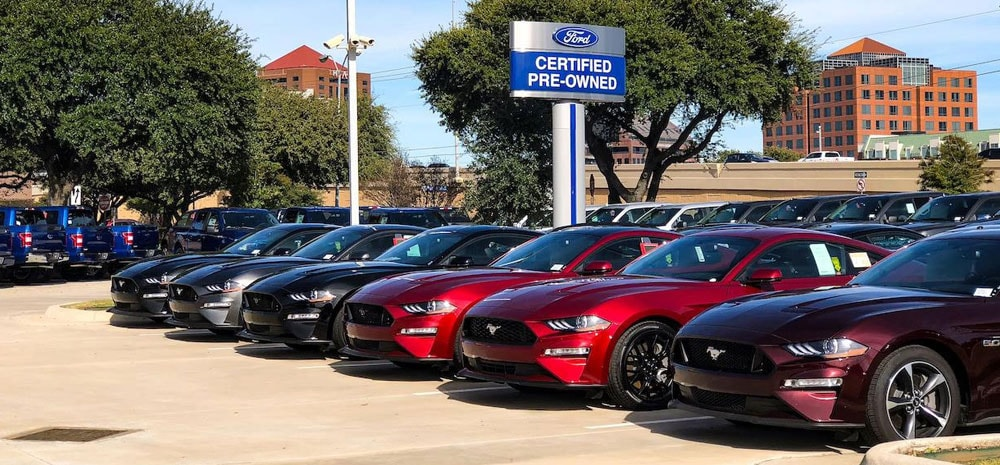 Ford Certified Pre-Owned Vehicles for Sale in Richardson, TX