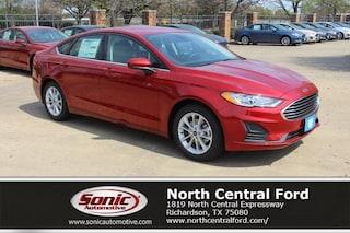 New 2019 Ford Fusion SE Sedan near Dallas