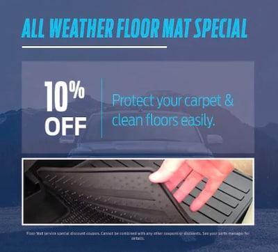 All Weather Floor Mat Special