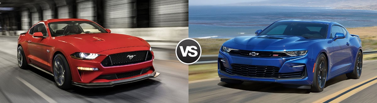 2020 Ford Mustang vs 2020 Chevy Camaro