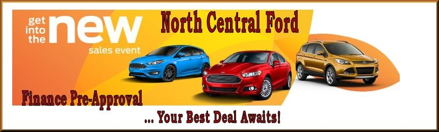 North Central Ford finance pre-approval