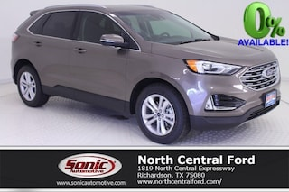 New 2019 Ford Edge SEL SUV near Dallas