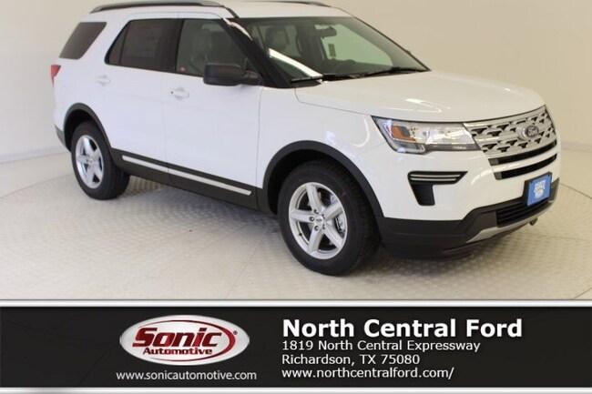 New 2019 Ford Explorer XLT SUV near Dallas