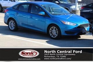 New 2015 Ford Focus SE Sedan near Dallas