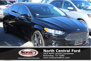 New 2016 Ford Fusion Titanium Sedan near Dallas