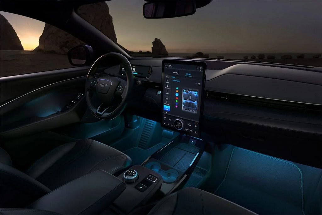 2021 Ford Mustang Mach-E Mood Lighting