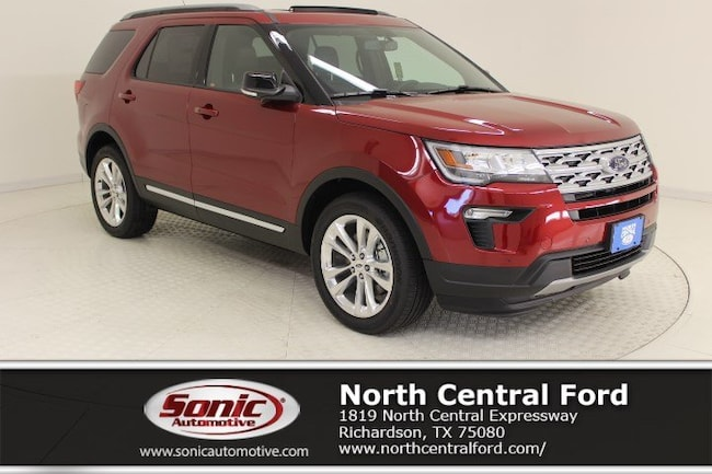 New 2018 Ford Explorer XLT SUV near Dallas