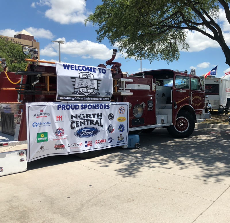 BBQ for the Badge in Richardson, TX