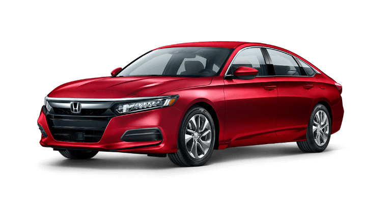 2020 Honda Accord LX in red