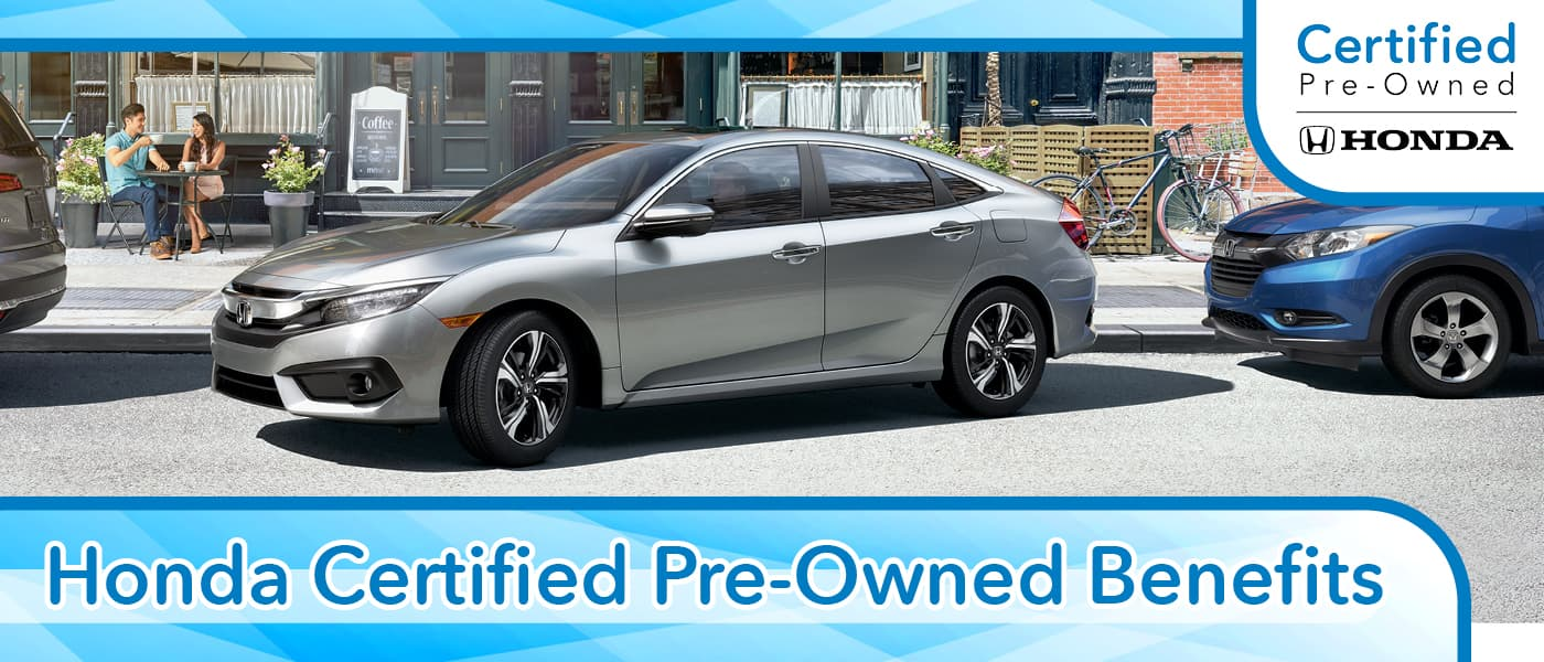 Honda Certified Pre-Owned Benefits