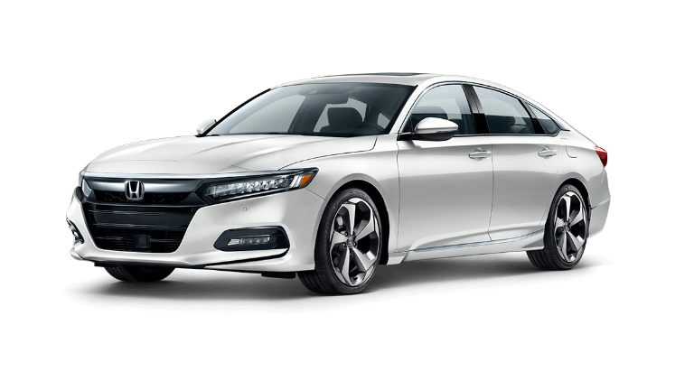 2020 Honda Accord Touring in white