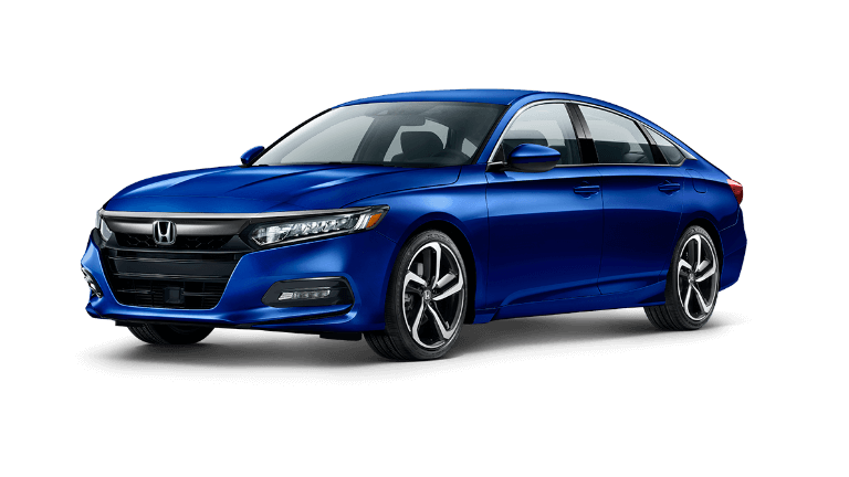 2020 Honda Accord Sport in blue