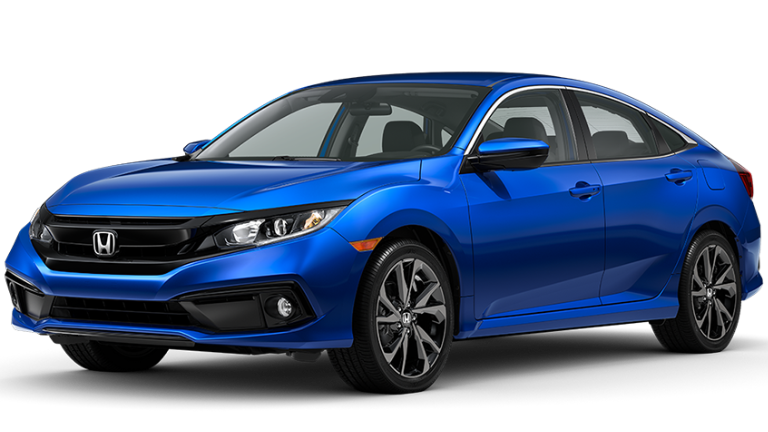 2020 Honda Civic Sport in Blue