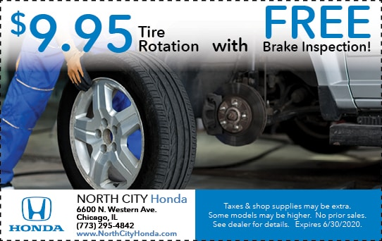Tire Rotation & Free Brake Inspection