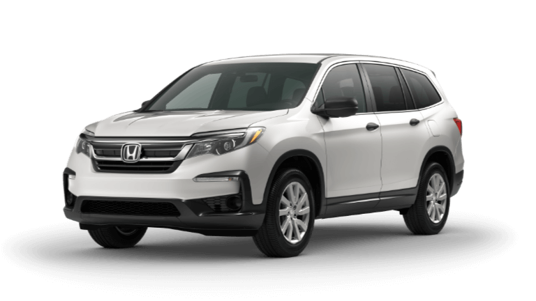 2020 honda Pilot LX in White