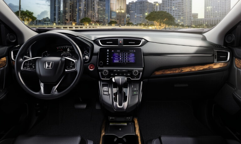 2020 Honda CR-V interior front dashboard