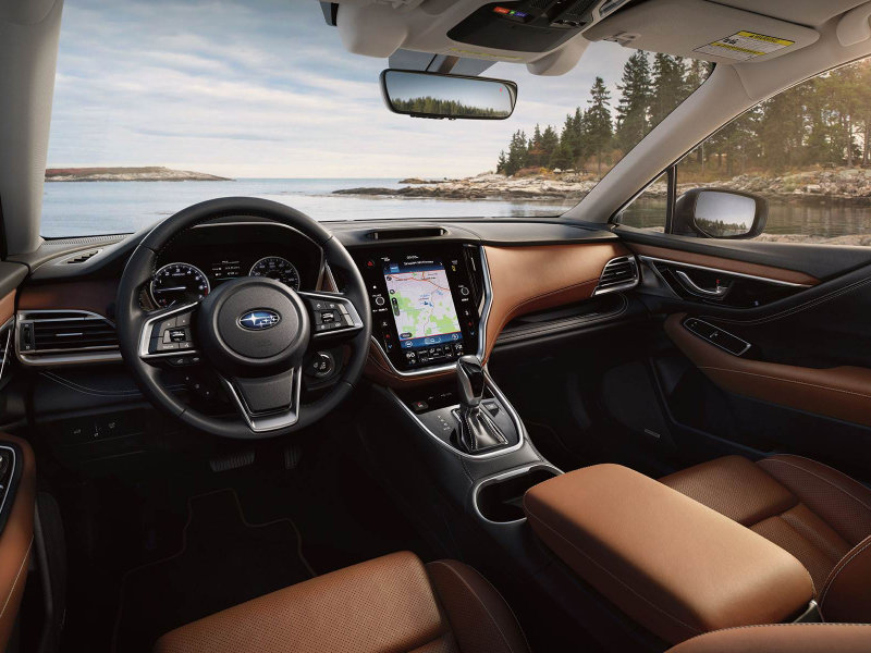 Stay safe on the road in a 2021 Subaru Outback near Locust Valley NY