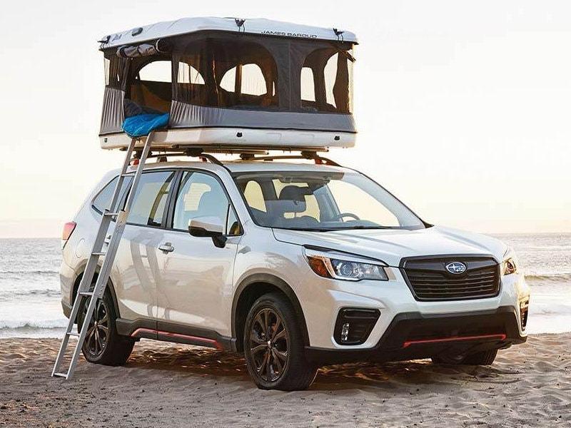 Feel the 2021 Subaru Forester near Oyster Bay NY