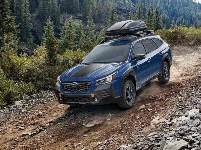 A 2022 Subaru Outback Wilderness packs excitement near Oyster Bay NY