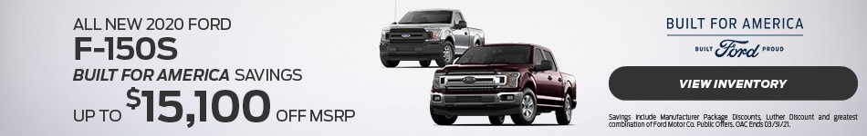 All New 2020 Ford F-150s
