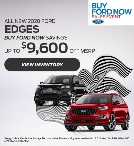 All New 2020 Ford Edges