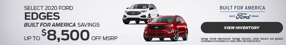 Select 2020 Ford Edges